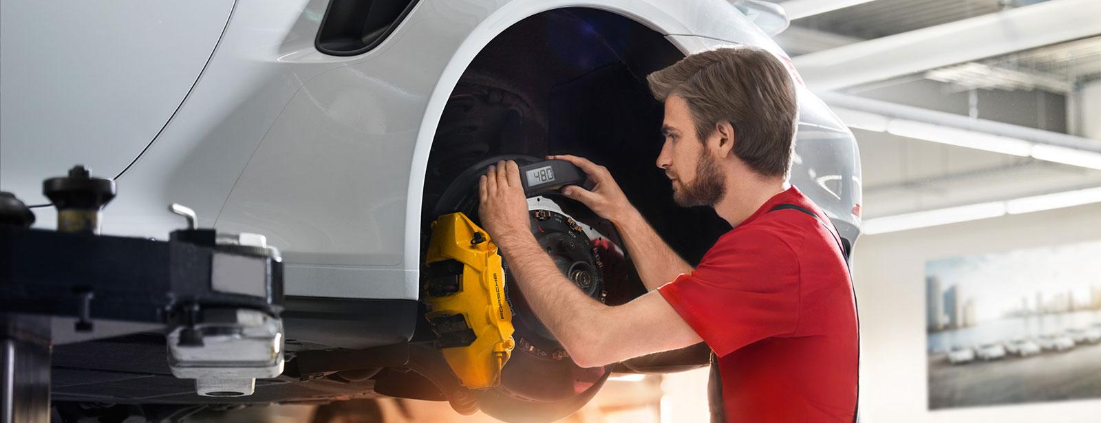 Porsche Winter-Check